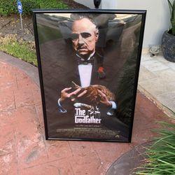 Godfather Poster w/ Black Frame for Sale in Miami,  FL
