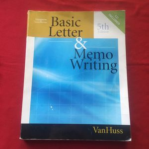 FREE Book Basic Letter and Memo Writing for Sale in San Diego, CA