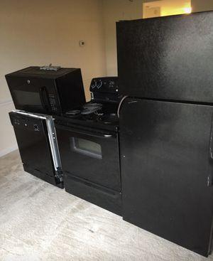 Range ,microwave ,fridge for Sale in Hyattsville, MD