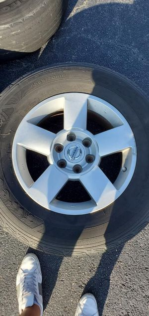 Set of 4 tires Nissan Infiniti for Sale in Myrtle Beach, SC
