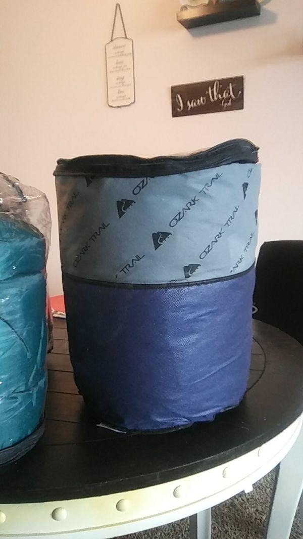 Sleeping bags used once
