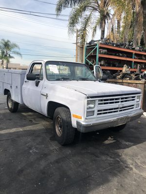 1985 c20 truck for parts part out service bed Bk Auto Wrecking 14134 Garfield Ave paramount ca for Sale in Bellflower, CA