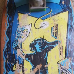 SMA  Santa Monica Airline  mike conroy mask skateboard Vintage for Sale in Covina, CA