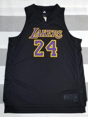 Adidas Kobe Bryant Black Mamba #24 Black Jersey sz XL for Sale in Whittier, CA