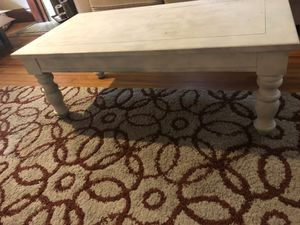 White coffee table for Sale in Denver, CO