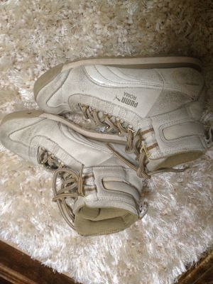 Puma high tops tennis shoes ,size 6 for Sale in Price, UT