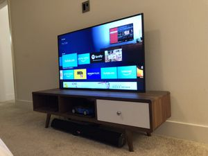 "50"" inches 4K TV - bonus Soundbar by Megacra & Fire TV for Sale in Milpitas, CA"