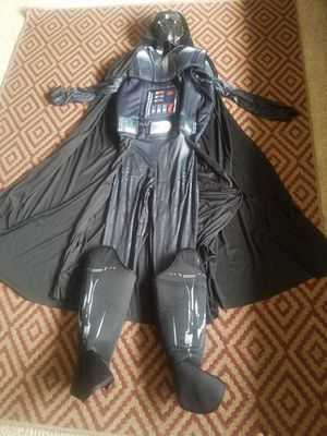 Adults Men's Classic Star Wars Dark Lord Darth Vader Villain Costume Size M for Sale in Kalispell, MT