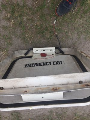 Emergency escape hatch for a bus or Rv for Sale in Orlando, FL