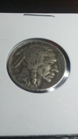 1934-D Buffalo Nickel - High Grade Coin for Sale in Wenatchee, WA