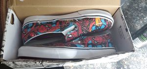 Size 10 limited edition spider man vans for Sale in College Station, TX