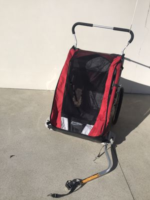 Thule Chariot Cheetah 2 two children Bike Trailer and Stroller for Sale in Cardiff, CA