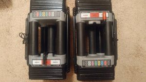 Powerblock Elite 70 lb adjustable dumbbells --- 21 in 1 for Sale in Elk Grove, CA