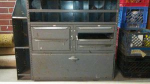 Heavy duty metal tool box can go in Van for Sale in Detroit, MI