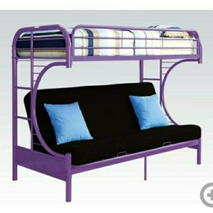 200 Or Best Offer Twin Over Full Bunk Beds. Bottom Full Also Doubles As Futon. Good Condition. for Sale in Broomfield, CO