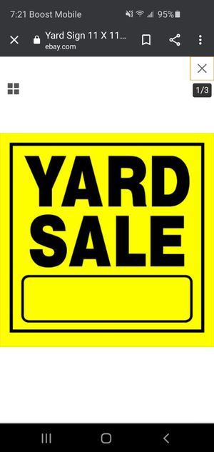 Yard sale Saturday 6/6 from 8am to 12pm for Sale in Greensboro, NC