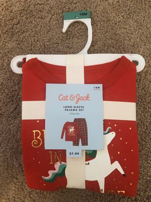 Cat and Jack brand new 18m baby pajama set for Sale in San Diego, CA