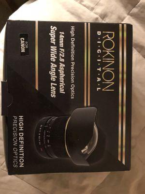 Rikinon 14mm F/2.8 Aspherical super wide angle lens for Sale in Charlottesville, VA