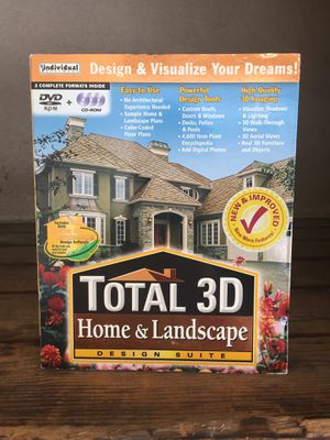 Total 3D Home and Landscape design software for Sale in Long Beach, CA