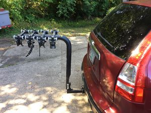 Bike rack for car trailer hitch. for Sale in Corbett, OR