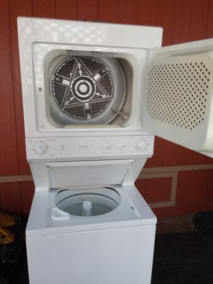 Stackable washer and gas dryer $385 for Sale in Long Beach, CA