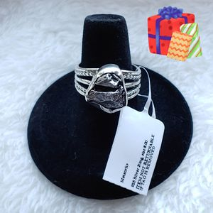 Holiday Gift 🎁 NEW Meteorite Sterling Silver Ring for Sale in Margate, FL
