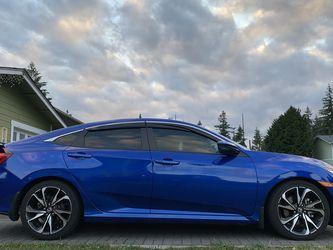 OEM 2016-2021 Honda Civic Side Skirts Aegean Blue ! for Sale in Tacoma,  WA