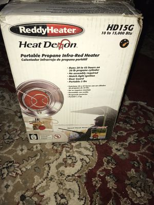 ReddyHeater portable propane infa-red heater for Sale in Durham, NC