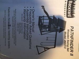 Swing set play back yard for Sale in Bordentown, NJ