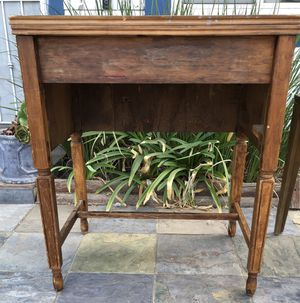 Antique sewing table/desk for Sale in Moreno Valley, CA