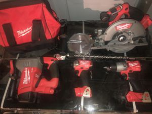 Milwaukee tools everything pictured new for Sale in Moreno Valley, CA