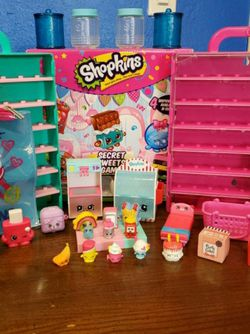 Big Shopkins Lot with Barbie for Sale in Bystrom,  CA
