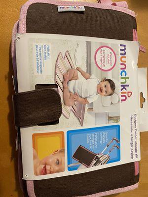 Munchkin designer diaper change Kit for Sale in Medford, OR