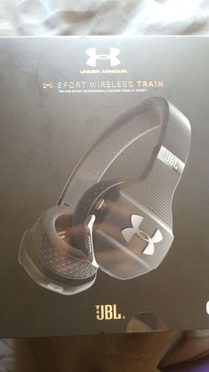 Under Armour JBL Sport Wireless Train Bluetooth Headphones for Sale in Diamond Bar, CA