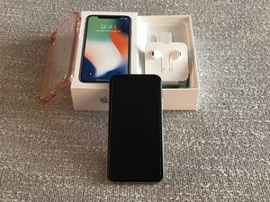 iPhone X 64gb Silver (mint condition) at&t/t-mobile/gsm for Sale in Irvine, CA