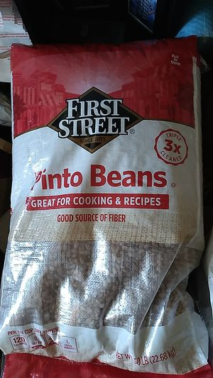 Pinto beans 50 lb bags $20 each for Sale in San Diego, CA