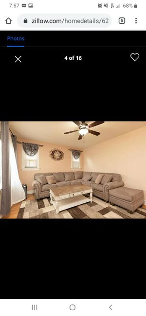 Sectional with ottoman for Sale in St. Louis, MO