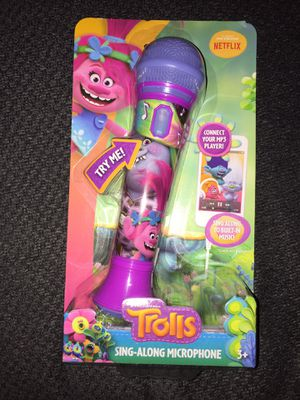 Trolls Microphone (NEW!) for Sale in San Antonio, TX