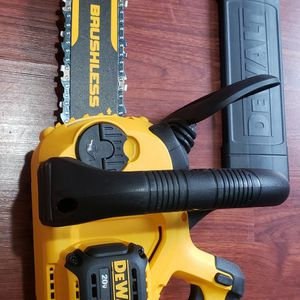 Dewalt Chainsaw 12in XR Brushless Tool Only for Sale in Laurel, MD