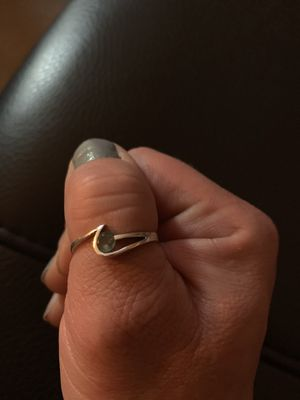 Sterling silver and aquamarine ring for Sale in Denver, CO