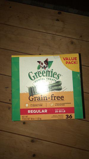 Greenies Dental Dog Treats Regular Size for Sale in Fort Belvoir, VA