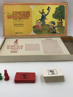 The Uncle Wiggily Board Game for Sale in Tenafly,  NJ