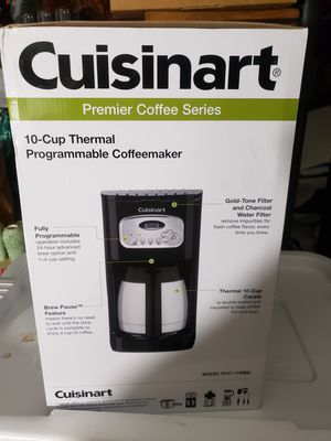 Cusinart Coffee Maker New in Box for Sale in Westminster, CA