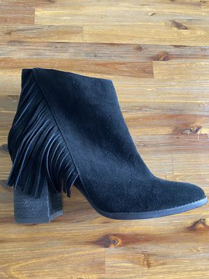 Black Leather Ankle Boots for Sale in Goodyear, AZ