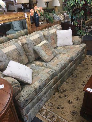 Pale Multicolor Couch for Sale in Marietta, GA