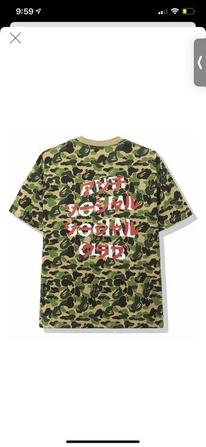 BAPE x ASSC tee size Large very limited NEW for Sale in Winter Park, FL