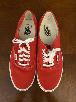 Red Vans Size 11 for Sale in Burke, VA
