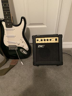 BC Guitar and Amp for Sale in Lehigh Acres, FL