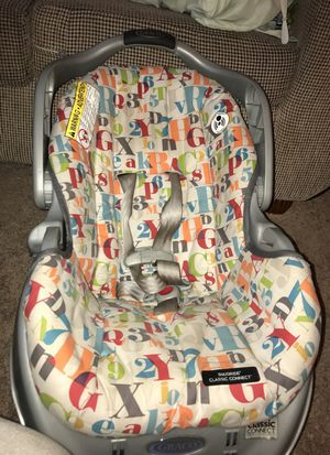 Car seat with base for Sale in Washington, MD