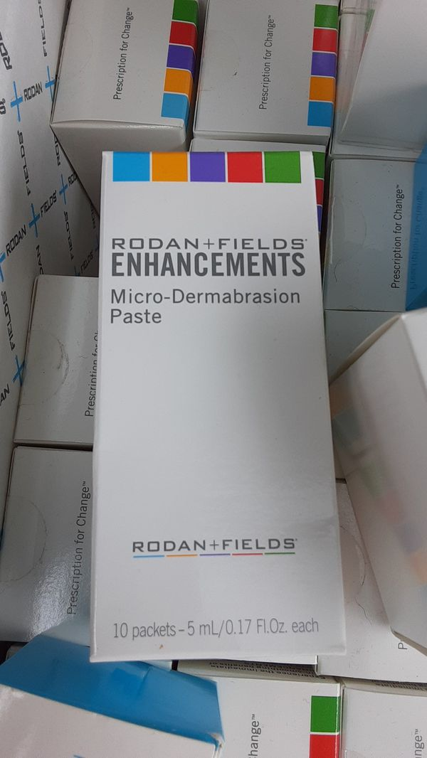 Rodan + field enhancements Micro-Dermabraison Paste & other products